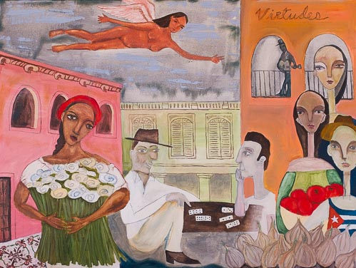 Artwork featuring Havana Street Market